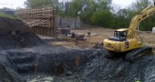 JWC performed all foundation excavation and back fill for new facility